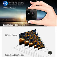 Portable Wireless Wifi Mini Home HD Projector DLP 1080P LED Phone Projector