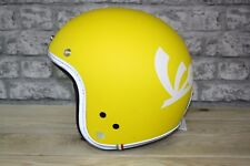 Vespa Yellow Motorcycle Helmet