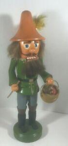Christmas Nutcracker German Mushroom Hunter Gatherer