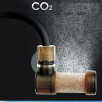 CO2 Atomizer Carbon Dioxide Bubble Diffuser for Fish Tank Aquarium Size S/L CO