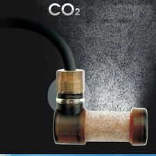 CO2 Diffuser Aquarium Carbon Dioxide Reactor Glass Tube Atomizer Bubble Maker HC