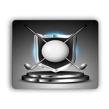 Golf Trophy Computer Mouse Pad for Home and Office