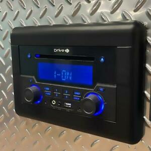 Drive DVD5000 RV Stereo AM/FM Radio/Bluetooth/Aux-In/DVD Player HDMI Wall Mount