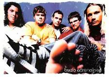 Audio Adrenaline Christian Band Bloom Album Advertising Promo Postcard Unposted