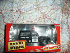 MERCEDES 230 GE Police Highway Patrol Ancien MAJORETTE série 3000 en Boite 1/34