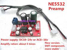 DC/AC 12v~15v Audio OP Preamps NE5532 AMP Hi-Fi  Pre-Amplifier Board PHILPS