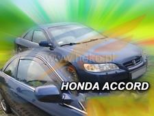HONDA ACCORD VI 3-doors 1999-2002 2-pc version USA wind deflectors HEKO Tinted