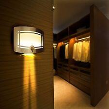 2x drahtlose Nachtleuchte LED Wandleuchte mit Bewegungsmelder/batteriebetriebene