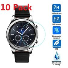 10 Pack Tempered Glass Screen Protector For Samsung Gear S3 Frontier Smart Watch
