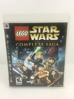 PS3 PlayStation 3 LEGO Star Wars: The Complete Saga ( 2007) Fast Free Shipping