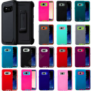 For Samsung Galaxy S8 / S8 Plus Case Universal Clip Fits Otterbox Defender Cover