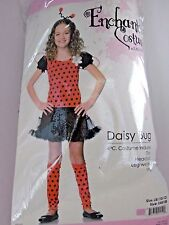 Size L/10-12 Daisy Bug Girl Child Dress Up Costume Halloween Party Birthday