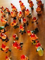 Zwergen - Parade aus den Ü-Eiern von Ferrero, 30 Stück