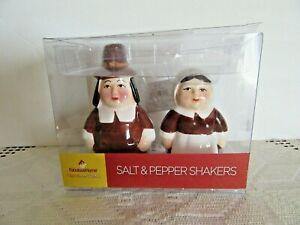 PILGRIMS SALT and PEPPER SHAKER  New. Sku J # 1