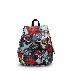 Kipling Medium Backpack Rucksack CITY PACK S in CASUAL FLOWER Print FW21  RRP£87