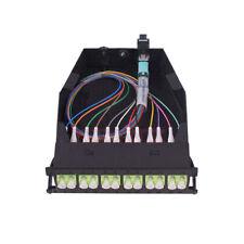 MTP-12 to 6x LC Duplex Type A 12 Fibers OM5 Multimode MTP/MPO Cassette
