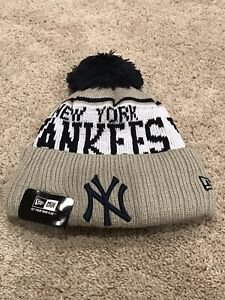 New York Yankees MLB New Era Adult Beanie Hat NWT