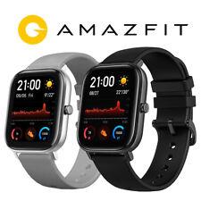 "Amazfit GTS 1.65"" Smartwatch Waterproof Health Tracking Obsidian Black/Lava Grey"