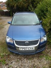 2007 Volkswagen VW Touran 1.9 TDI S Diesel. 7 Seater. 6 Speed year's mot repair