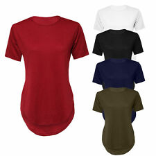 Women's Short Sleeve Sleeve Scoop Neck No Pattern Plus Size Tops & Shirts