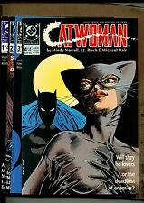 Catwomen #1-4 - Series of 4  - 1989 (Grade 9.0) WH
