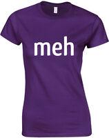 Meh Ladies Printed T-Shirt