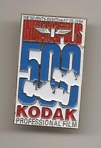 1994 Indianapolis 500 Event Sponsors Kodak Professional fild Collector Pin