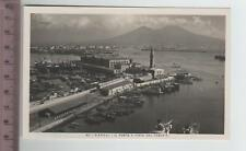 Campania - Napoli Il Porto e vista del Vesuvio- NA 8926