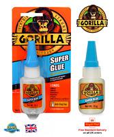 Gorilla® Super Glue 15g Stronger + Anti Clog Cap Crafts DIY Household SuperGlue