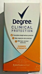 Degree Clinical Protection Motion Summer Strength Deodorant 1.7oz