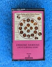 ERSKINE HAWKINS Live At Club Soul Sound Cassette Tape 1984 Jazz Chess Records
