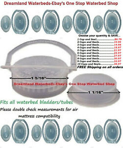 1-10 Blue Magic Waterbed or Air Mattress Replacement Caps-SAVE!!--FREE SHIPPING!