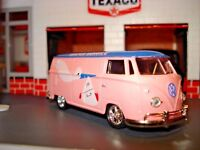 1960 MICROBUS VW DIAPER DELIVERY BUS LIMITED EDITION DELUXE VOLKSWAGEN 1/64 M2