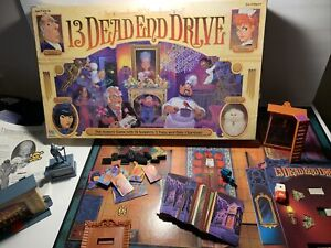 13 Dead End Drive Board Game Milton Bradley 1993 Replacement Parts Pieces
