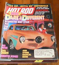 HOT ROD MAGAZINE July 1990- Fold Out, Alt Body styles, bad Buicks, Chevy's. Dodg