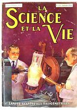 Science et vie n°255 du 9/1938;  Lampes Géantes pour Radiométteurs