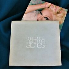 MADONNA BEDTIME STORIES PROMO CD BLUE VELVET BOX SET DIGIPAK CD CASE US 1994