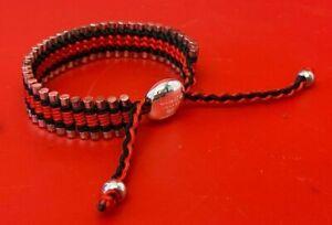 Links Of London Friendship Bracelet Black & Red - (EPP/GA3980)