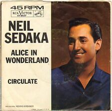 "NEIL SEDAKA ""CIRCULATE"" POP ROCK 1963 SP RCA VICTOR 47-8137"