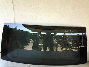 Acura MDX 4dr 01 02 03 04 05 06 FB21058 Back Glass Heated