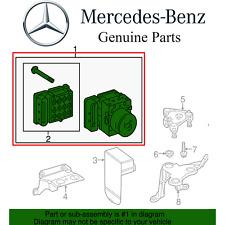 For Mercedes W204 C204 C X204 R172 SLK ABS Antilock Brake Hydraulic Unit & Modul