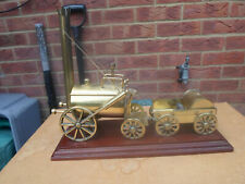 Mounted Brass Model of Early Victorian Steam Engine