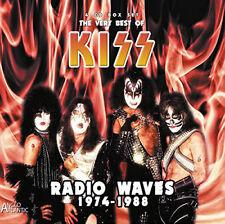 Kiss : The Very Best of Kiss: Radio Waves 1974 - 1988 CD Box Set 4 discs (2016)