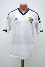 SCOTLAND NATIONAL TEAM 2012/2013/2014 AWAY FOOTBALL SHIRT JERSEY ADIDAS