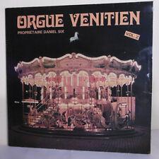 """33T ORGUE VENITIEN Vol. 2 Disque Vinyle LP 12"""" DANIEL SIX - VL002 RARE"""