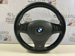 BMW 3 SERIES E90 E91 E92 E93 M SPORT COMPLETE STEERING WHEEL OEM