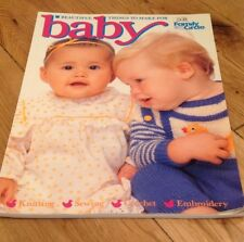 BABY KNITTING SEWING CROCHET MAGAZINE FAMILY CIRCLE CLOTHES TOYS PATTERNS VGC