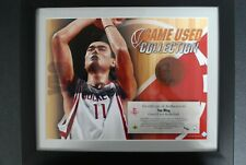 🌟 YAO MING Rare 2003-04 Upper Deck 13x16 Framed Game Used Basketball /40