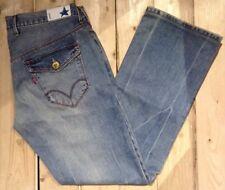 Levi's Blue Star Straight Cut Denim Jeans W34 L32. Ref 100229