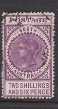 South Australia 1909 2s6d Brt Violet SG304 Fine Used